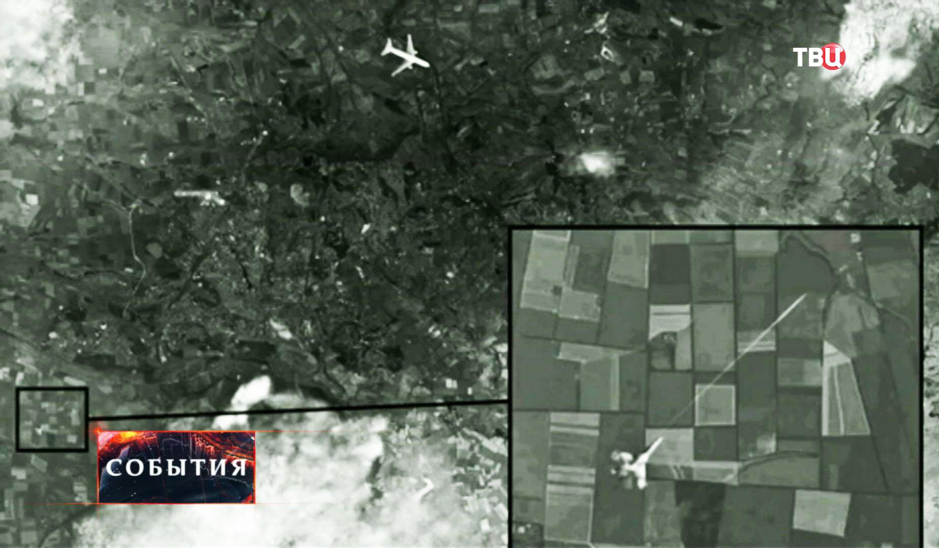 Атака на малайзийский Boeing под Донецком