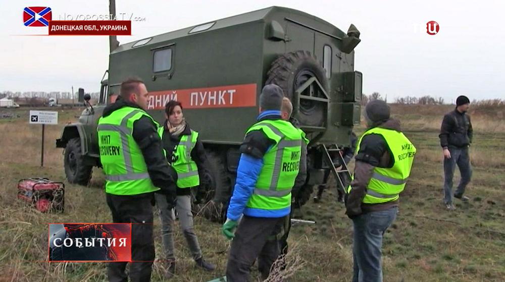 Международные наблюдатели в Донецкой области
