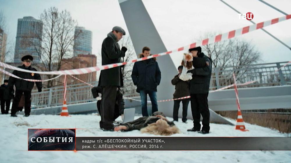 """Кадры из сериала """"Беспокойный участок"""""""