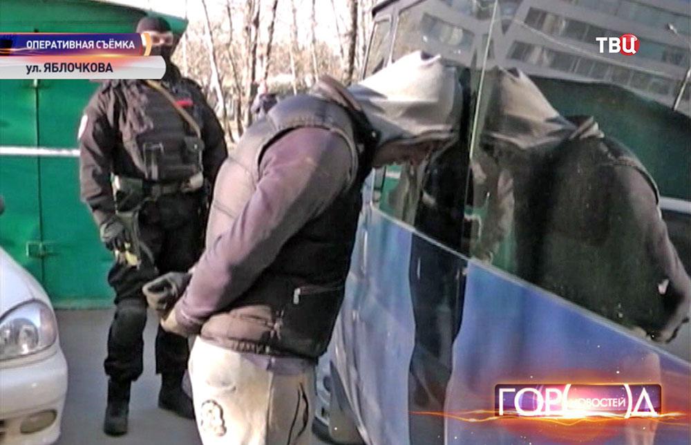 Задержание банды налётчиков