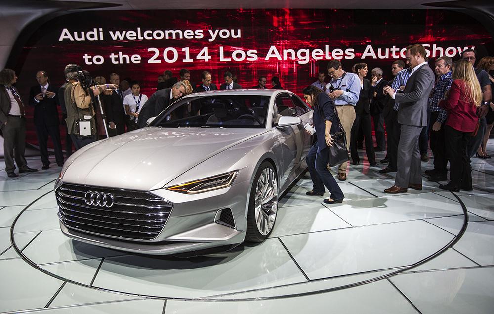Audi Prologue на автосалоне в Лос-Анджелесе