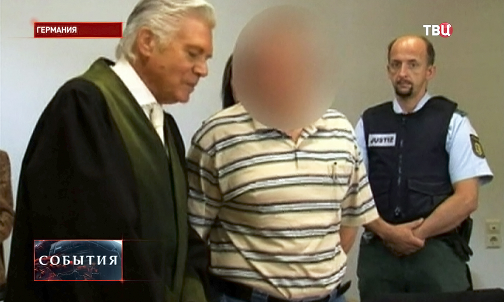 Осуждённый за шпионаж в пользу России Андреас Аншлаг