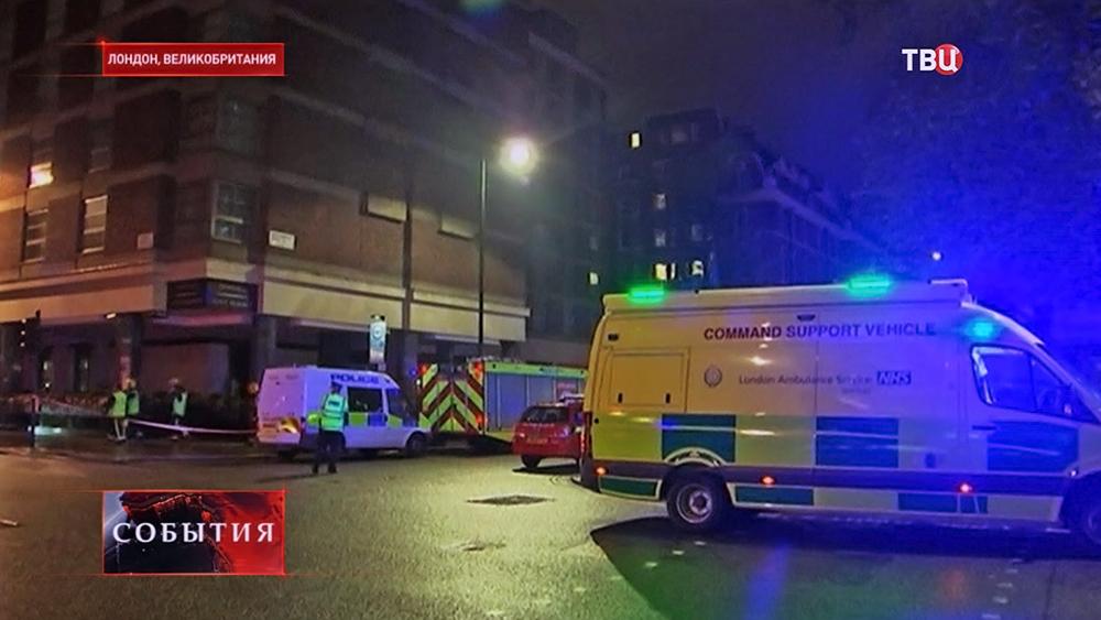 Экстренные службы Лондона на месте происшествия
