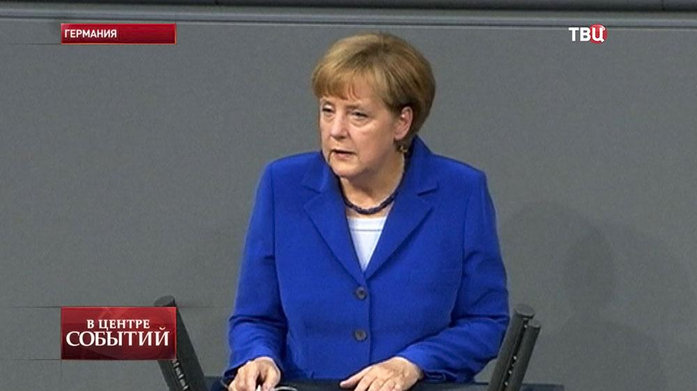 Канцлер Германии Ангела Меркель в молодости