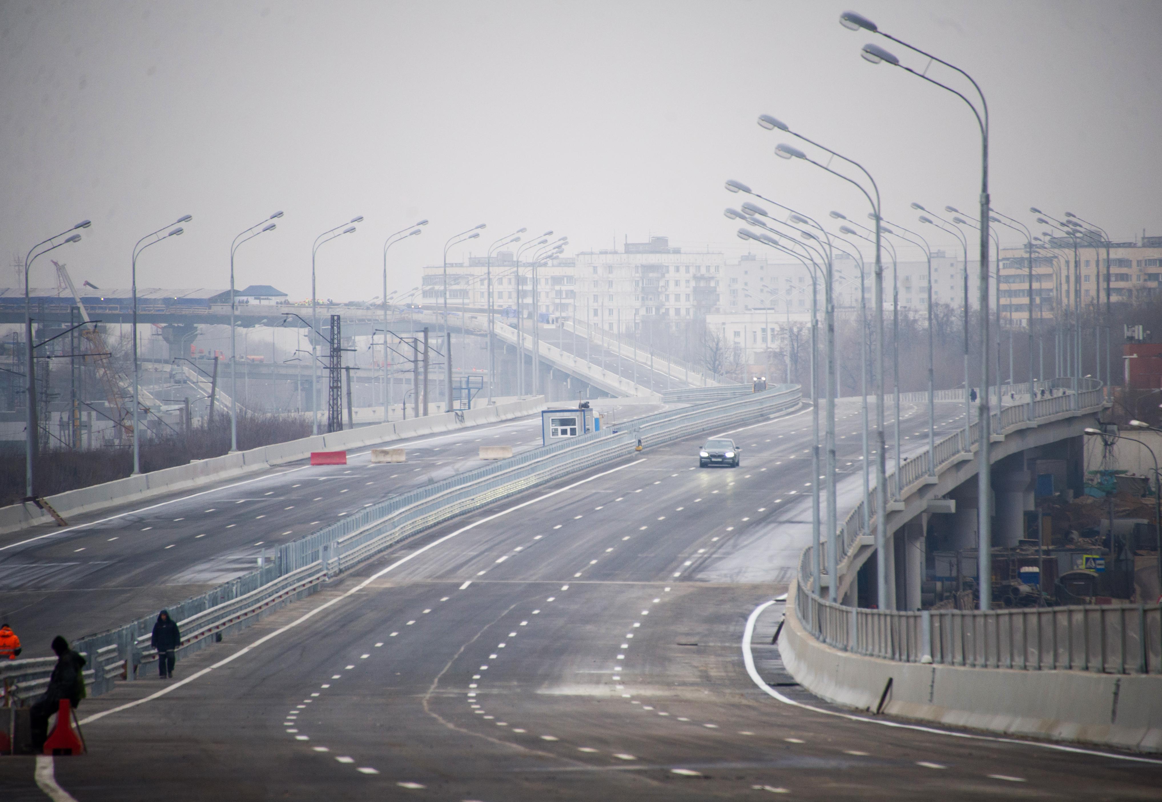 Строительство автодороги от Бусиновской развязки до Фестивальной улицы и развязки на пересечении с Фестивальной улицей