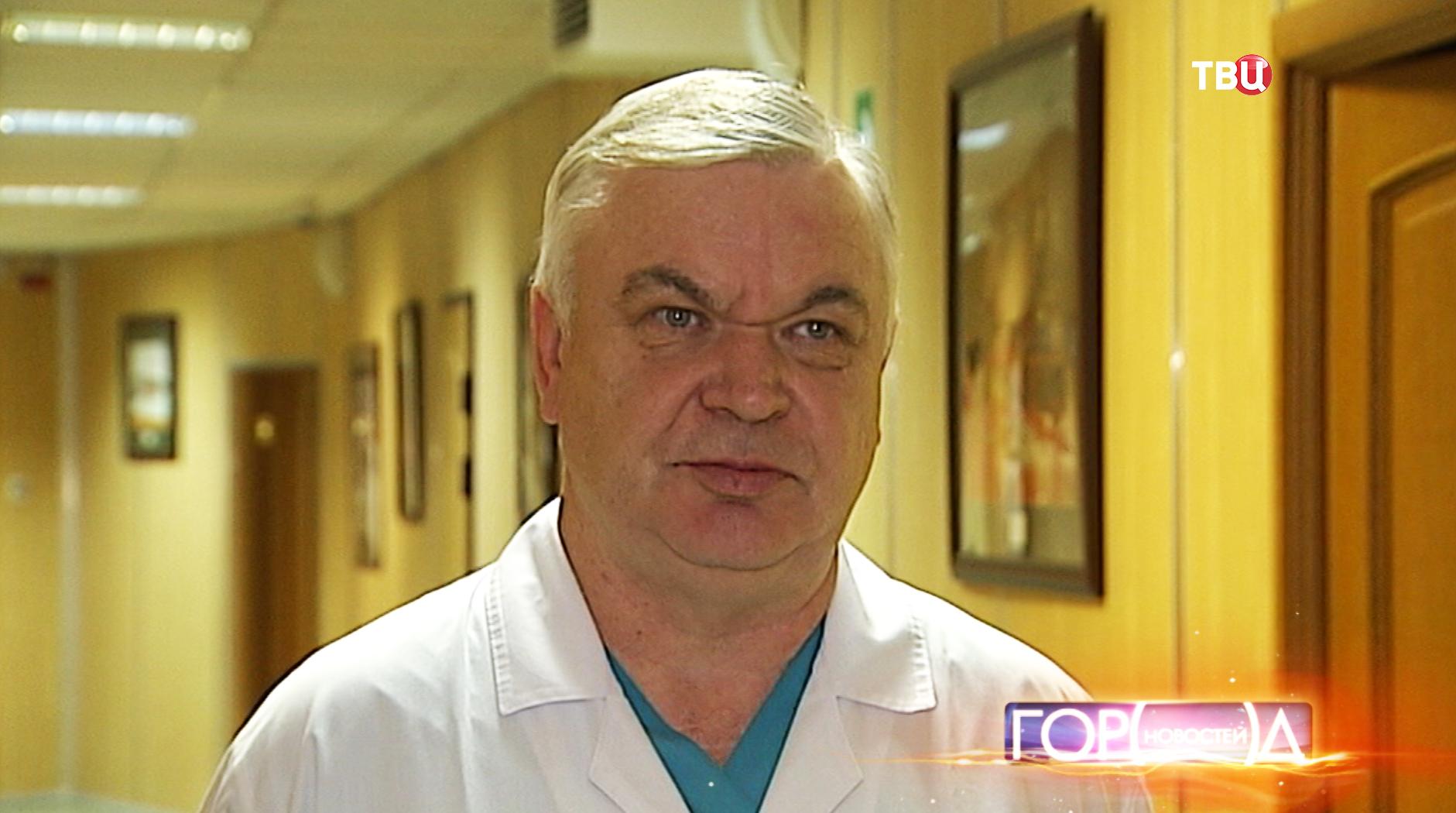 Заместитель главного врача по хирургии Виктор Шеин