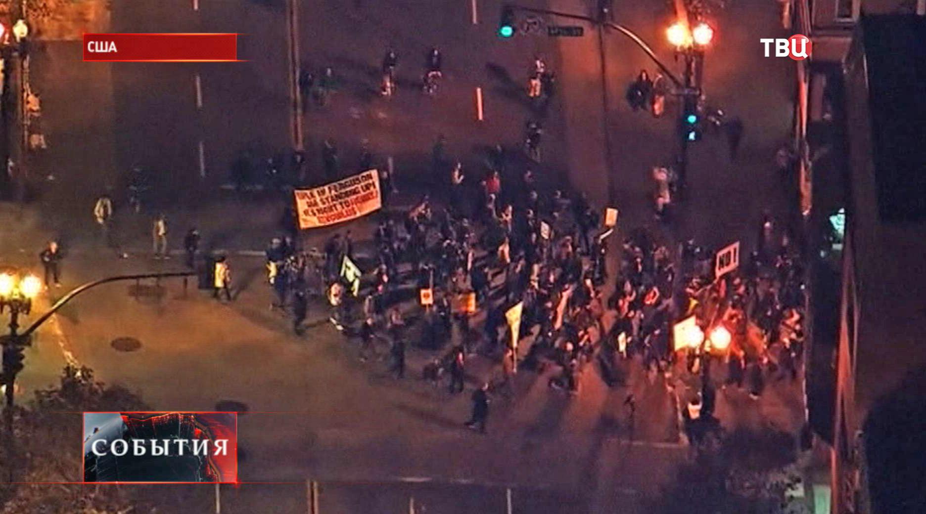 Акции протеста в США