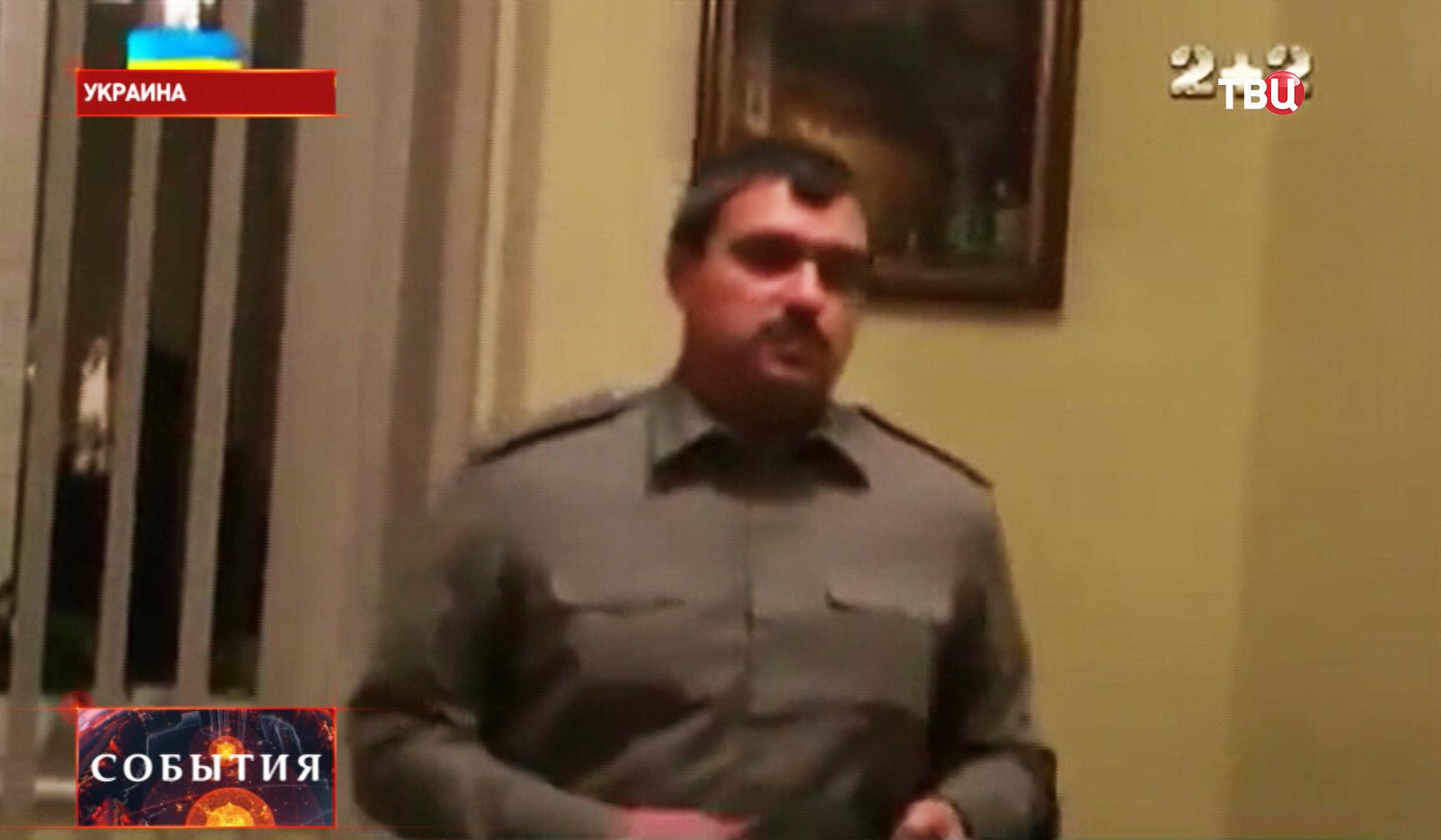 Заместитель начальника Генштаба генерал-майор Виктор Назаров