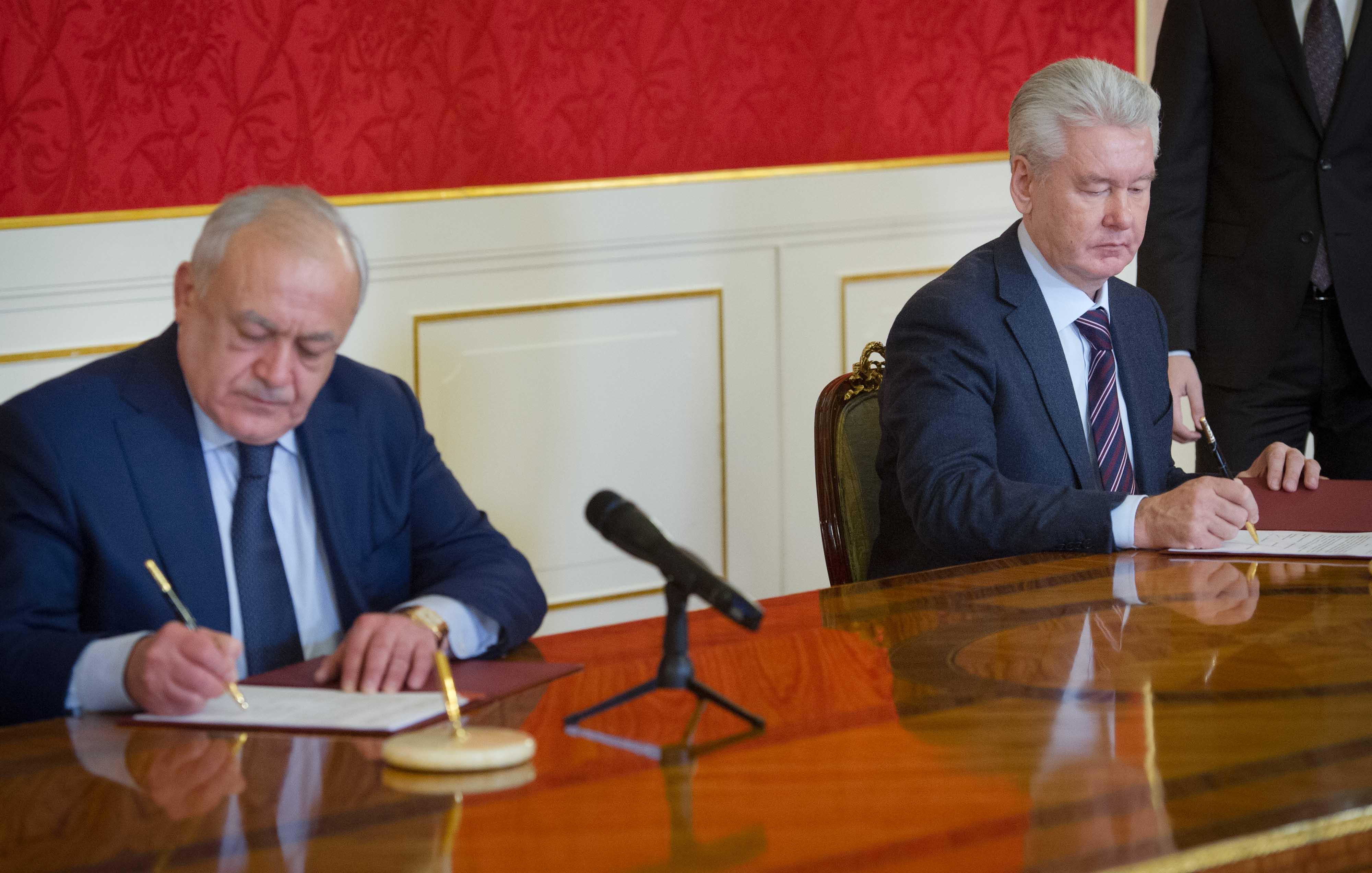 Подписание соглашения о сотрудничестве с республикой Северная Осетия-Алания