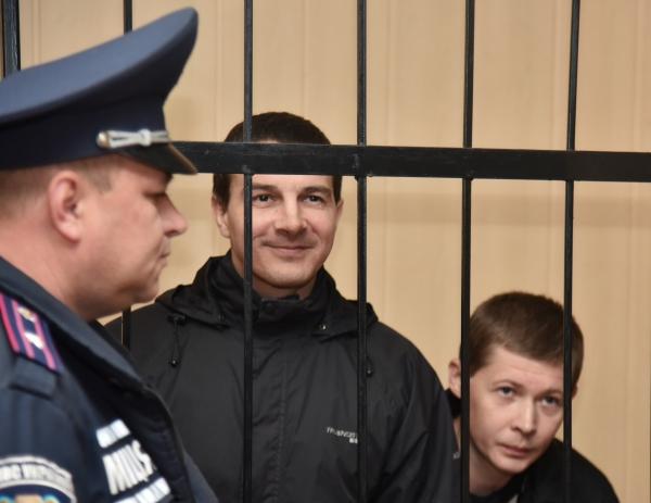 Обвиняемые в участии в массовых беспорядках во время событий 2 мая в Одессе