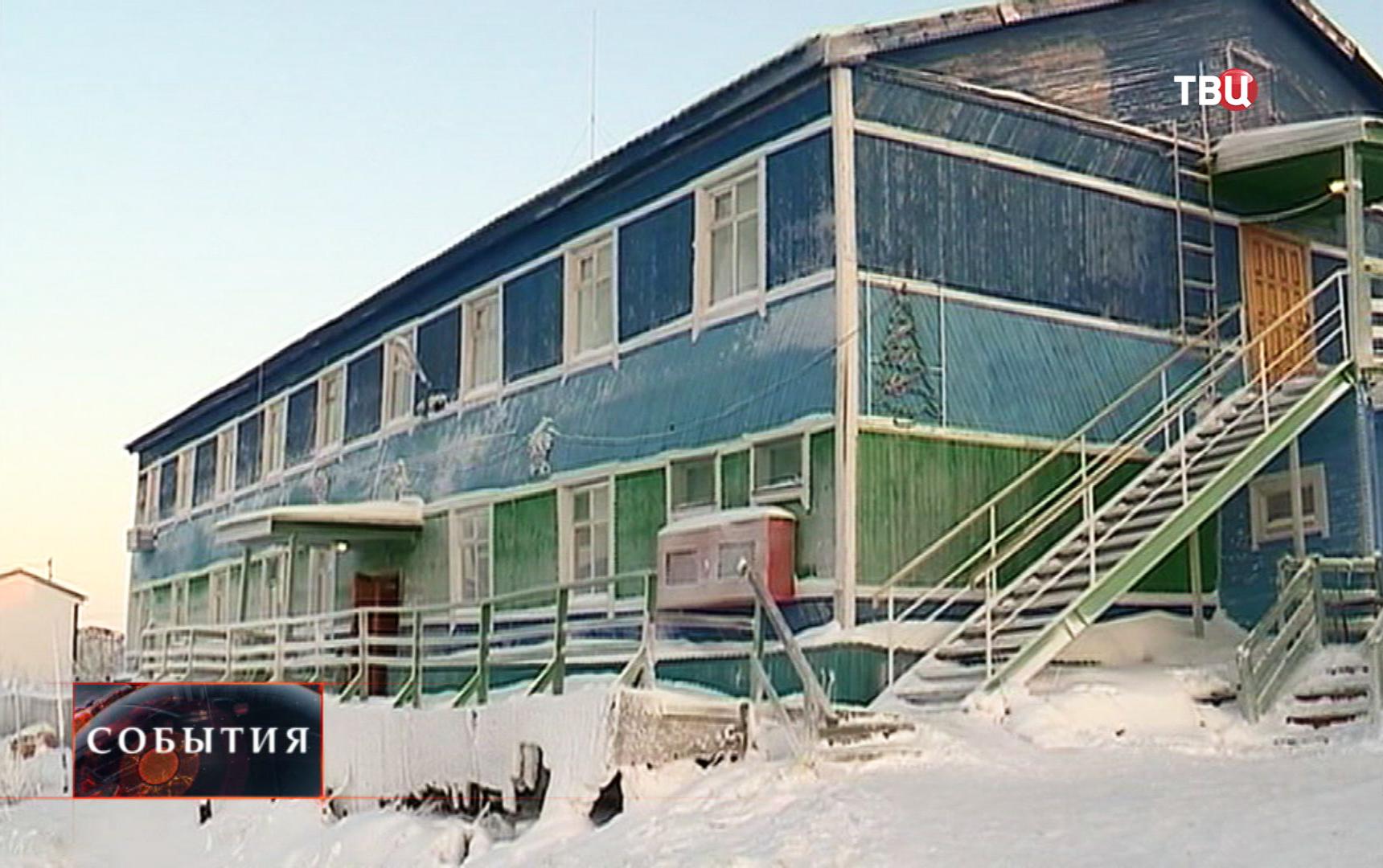 Сильный мороз на Ямале
