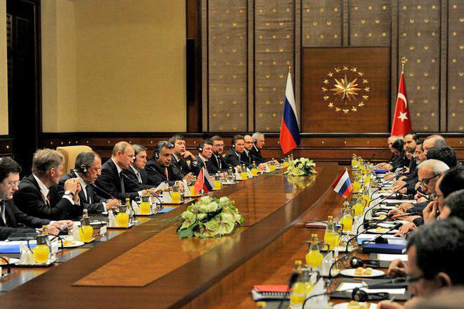 Заседание Совета сотрудничества высшего уровня между Россией и Турцией