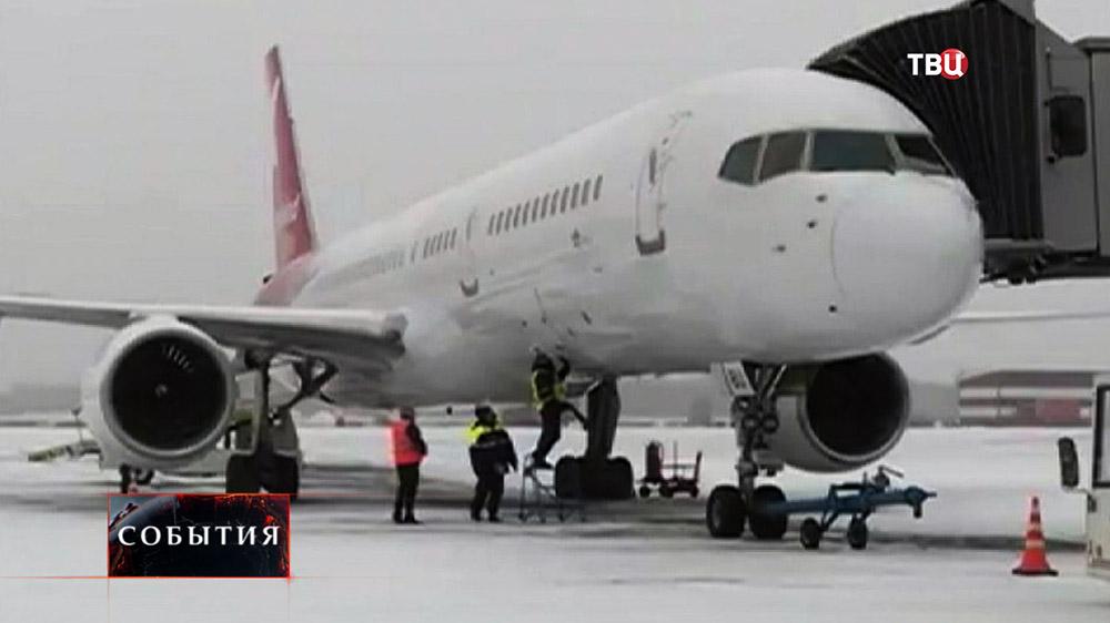 Подготовка самолета к рейсу