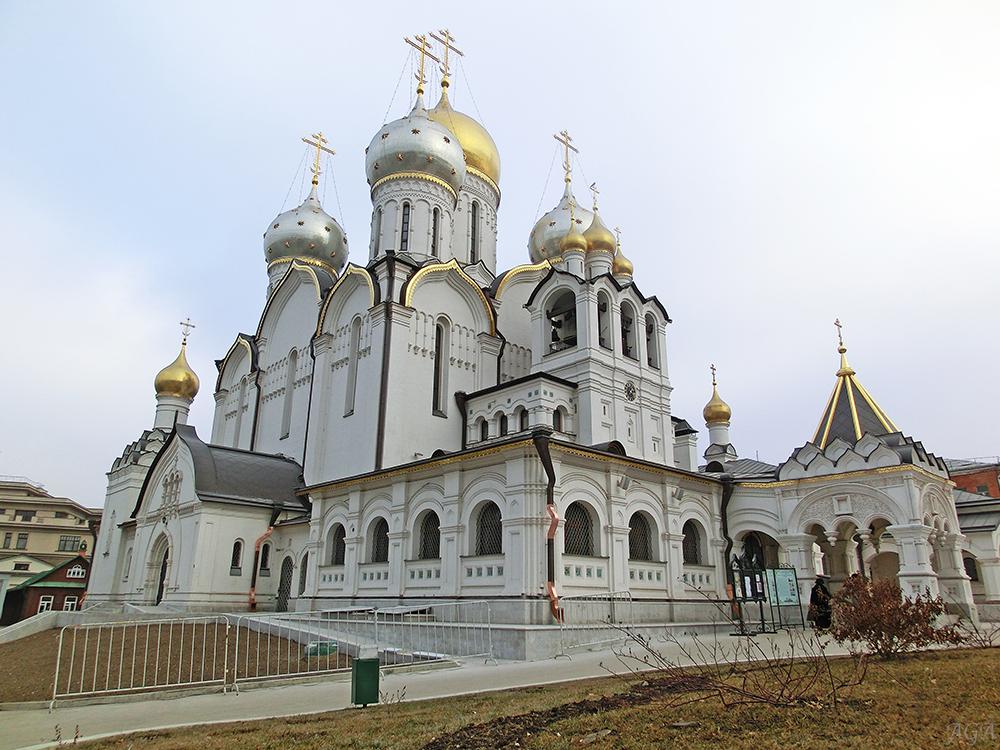 где находится зачатьевский монастырь в москве фото религиозного движения уходят