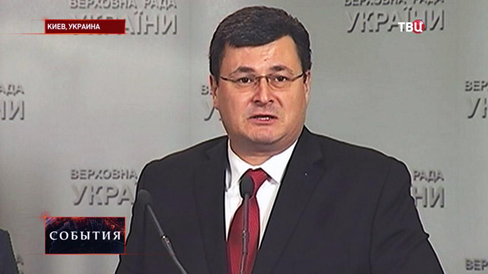 Глава минздрава Украины Александр Квиташвили