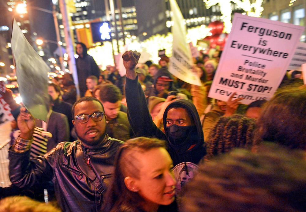 Митинг в Нью-Йорке