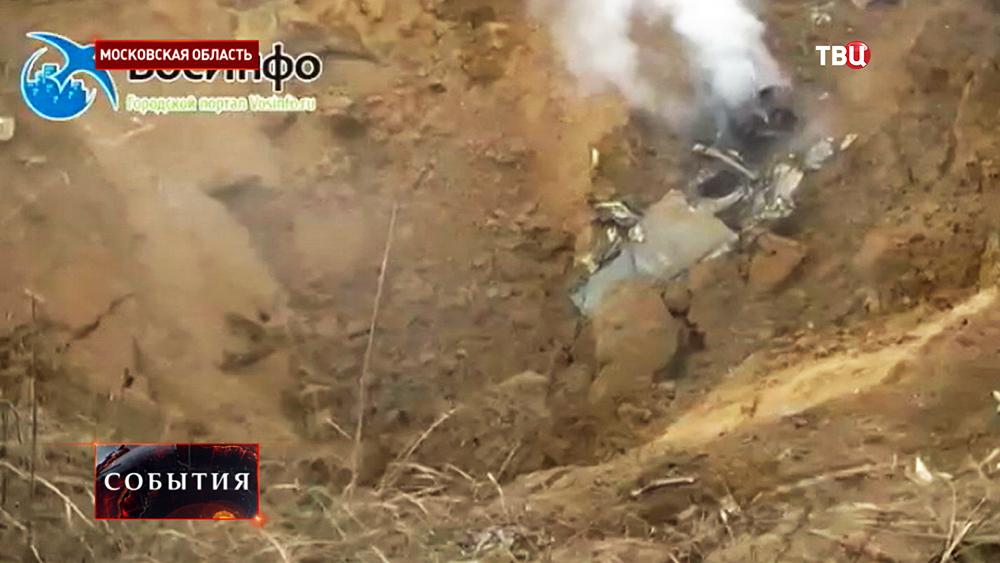 Место падения МиГ-29