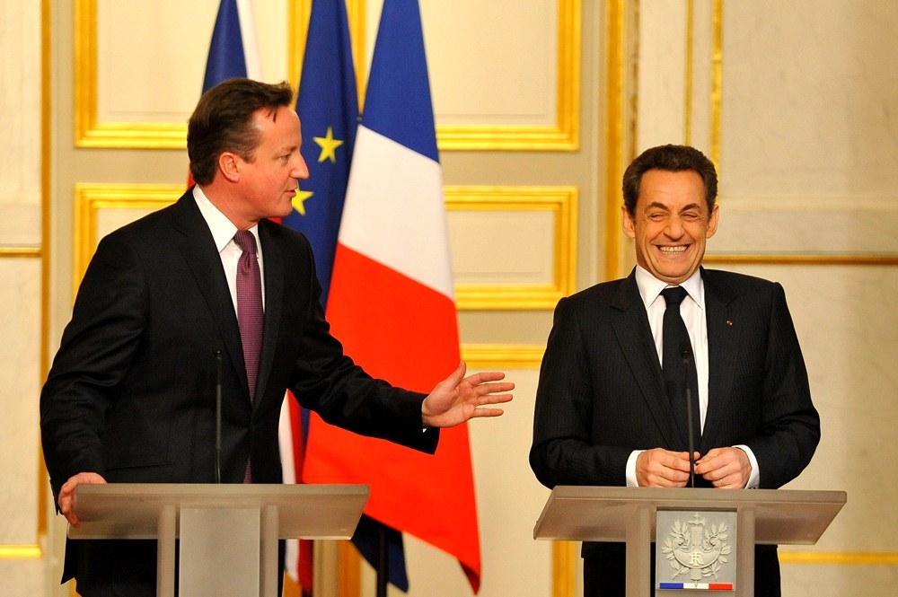 Дэвид Кэмерон и Николя Саркози