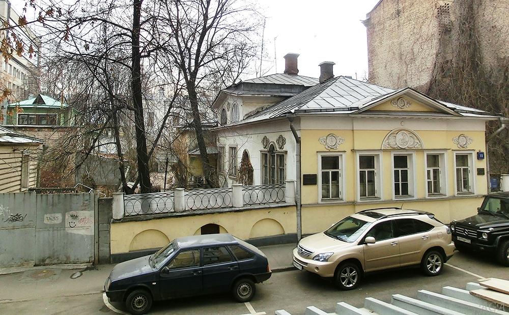 Особняк в Мансуровском переулке