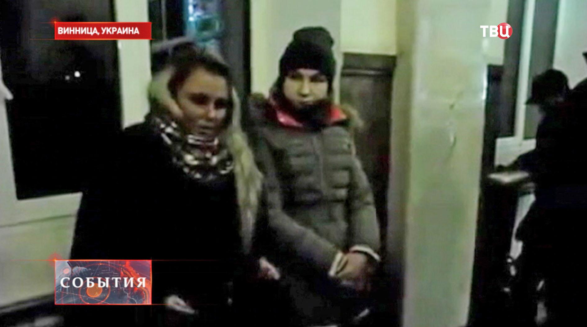 Задержанные российские журналистки
