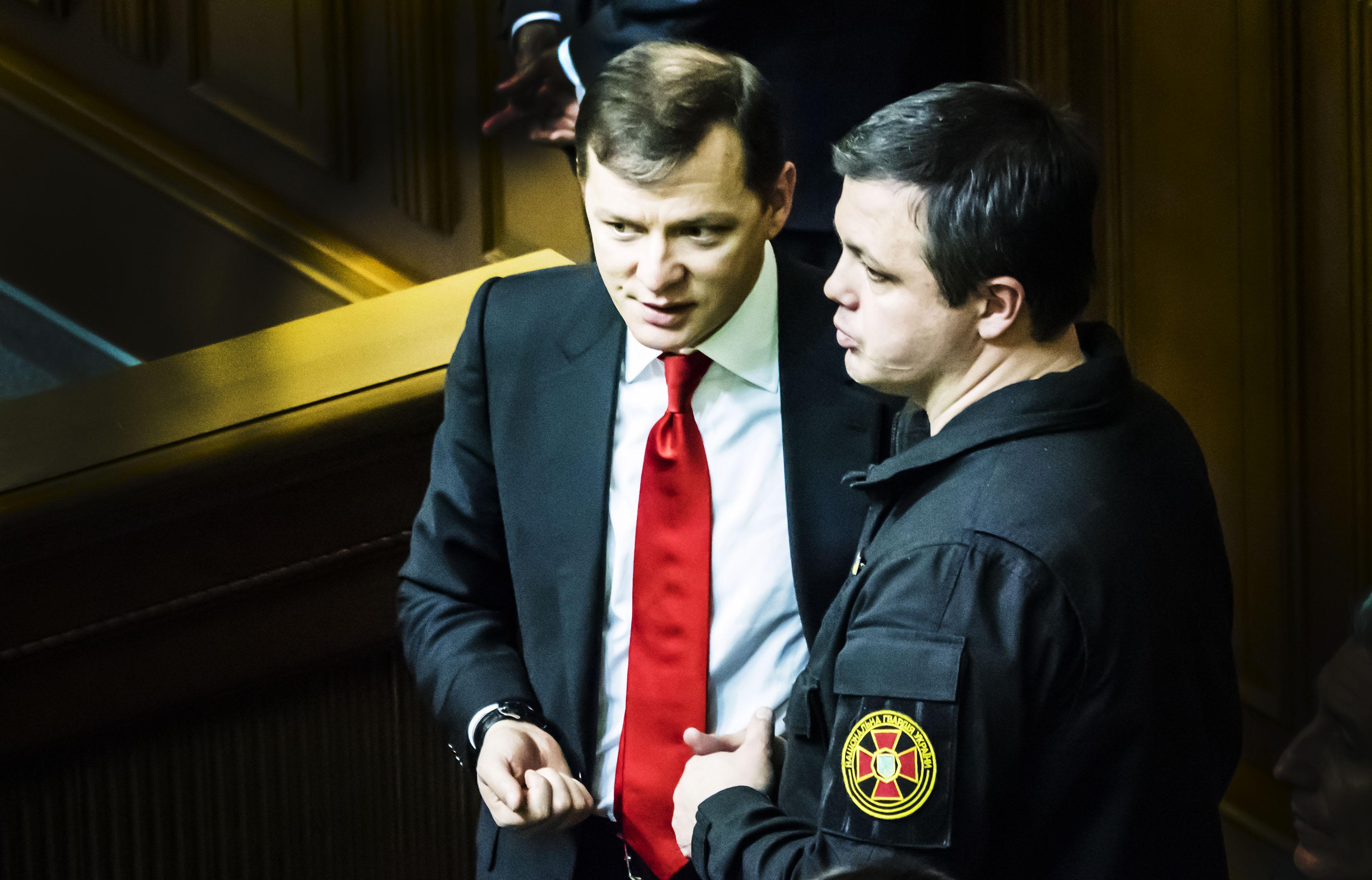 Олег Ляшко и Семен Семенченко