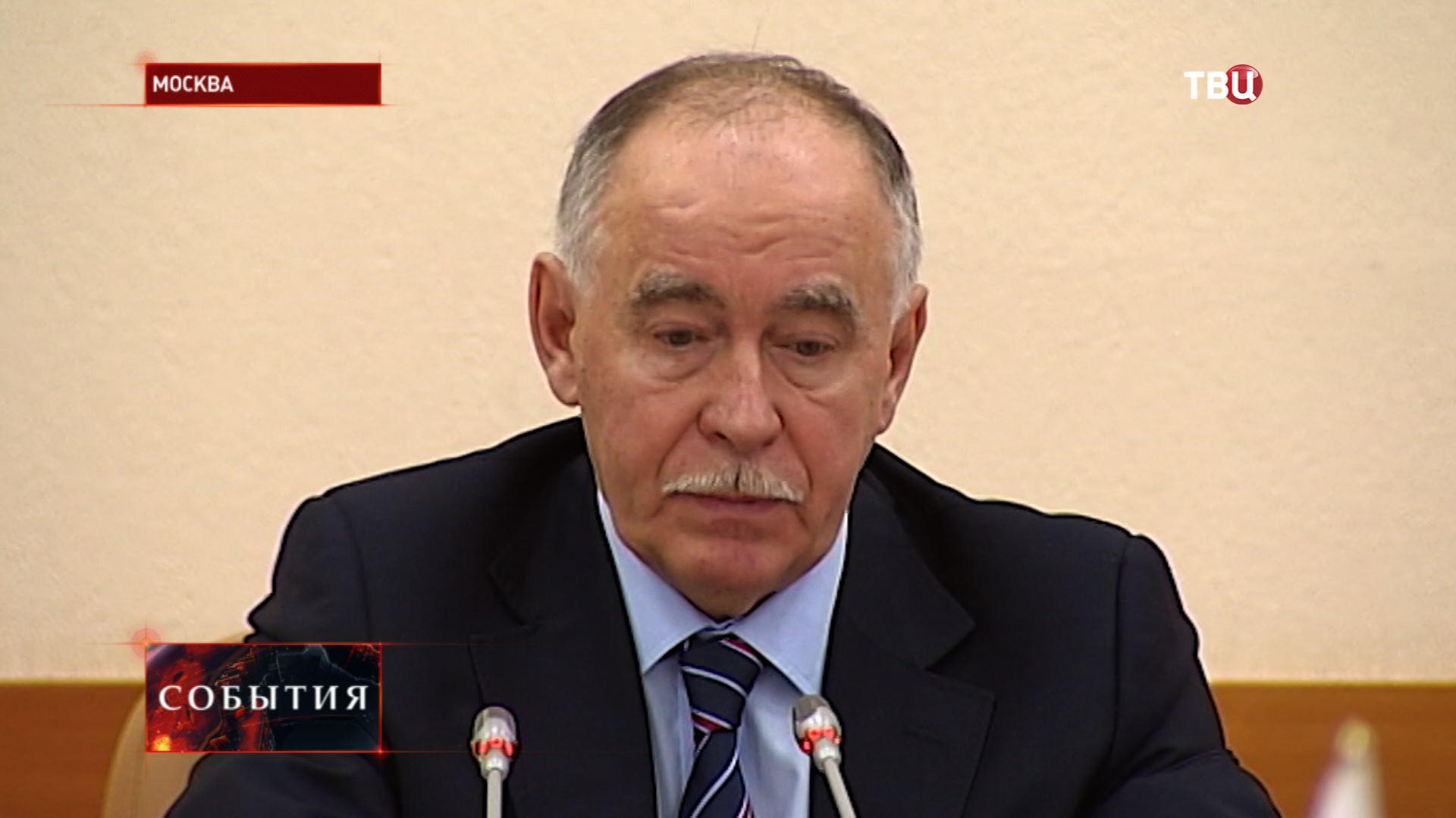 Глава ведомства Виктор Иванов