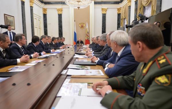 Совещание Совета безопасности РФ