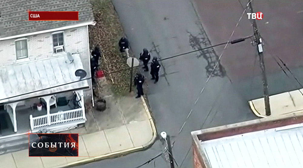 Спецоперация полиции США