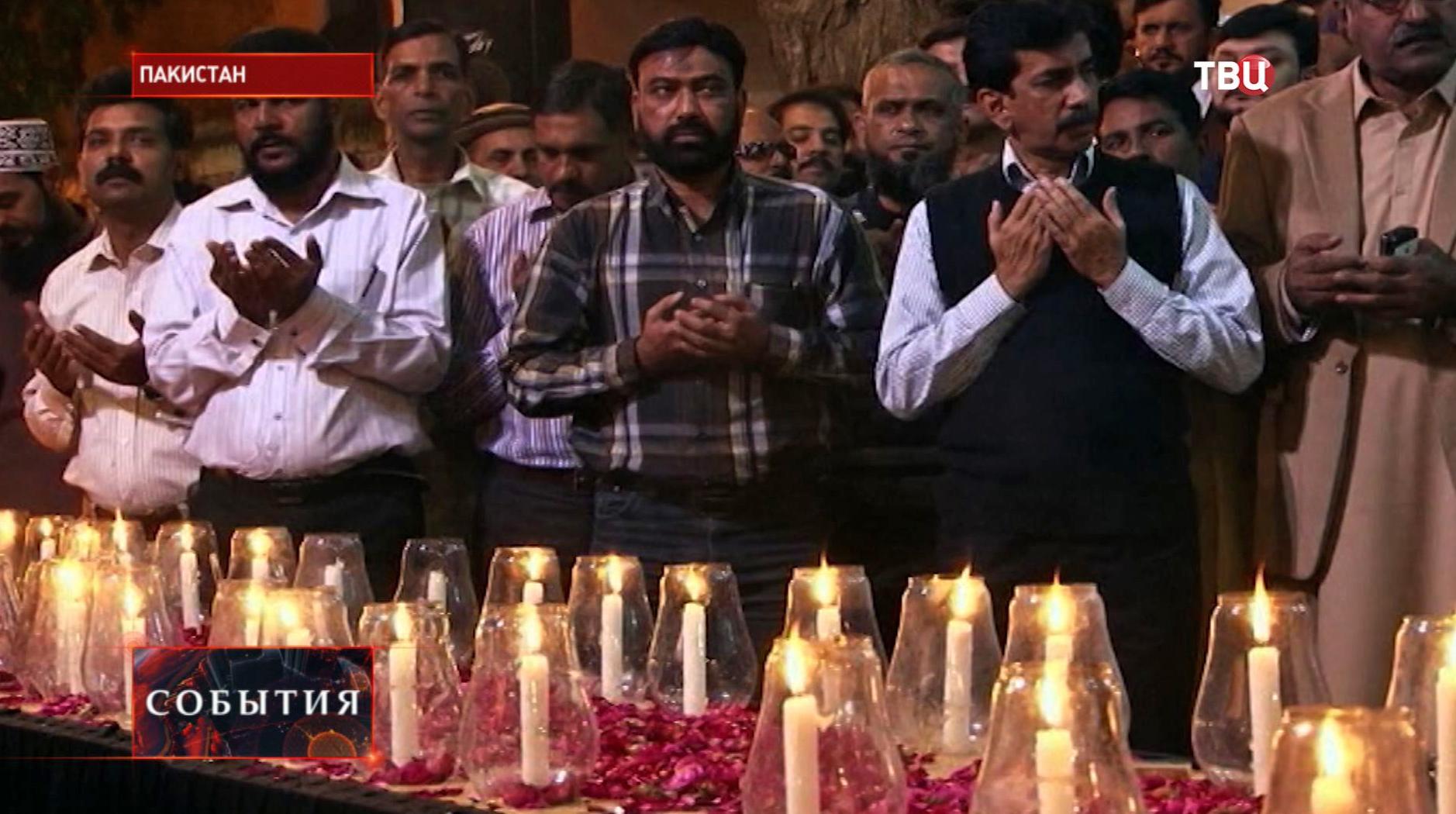 День траура в Пакистане