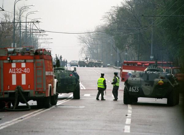 Спецоперация по освобождению заложников из Театрального центра на Дубровке