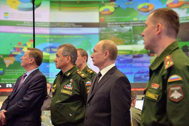 Владимир Путин посетил Национальный центр управления обороной Российской Федерации