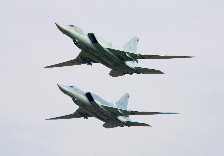 Советские бомбардировщики Ту-22