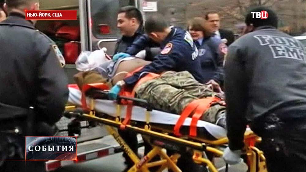 Убийцы полицейских в Нью-Йорке