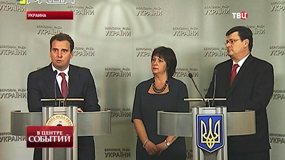 Назначенные иностранцы на украинские посты