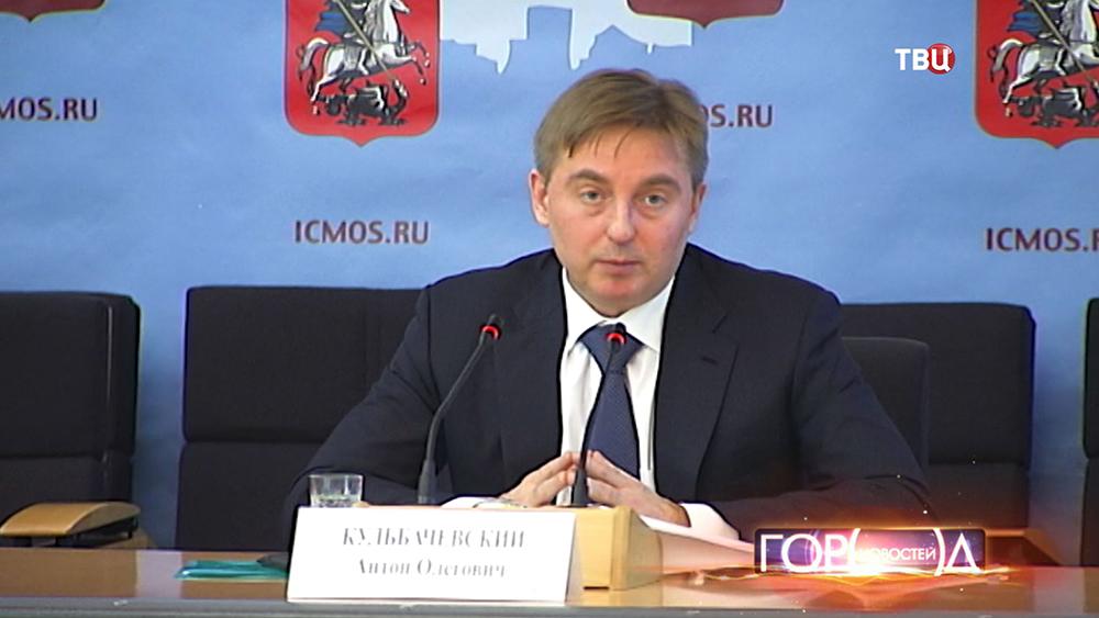 Руководитель столичного департамента природопользования и охраны окружающей среды Антон Кульбачевский
