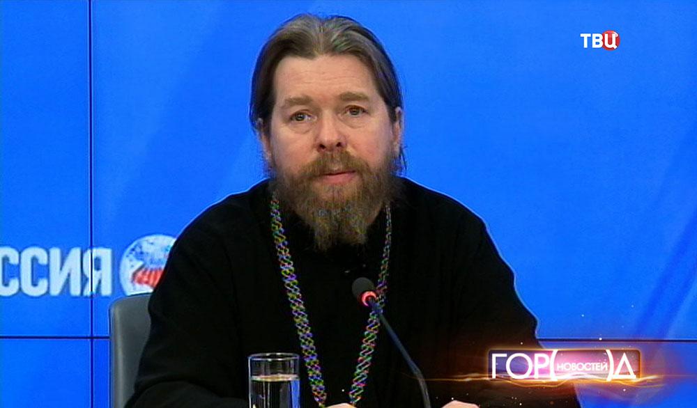 Ответственный секретарь Патриаршего совета по культуре архимандрит Тихон