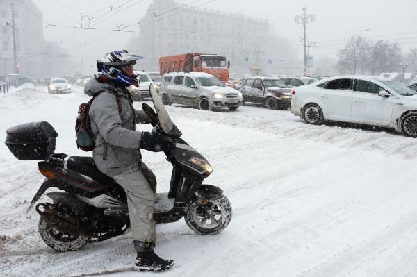 Пробка на Тверской улице