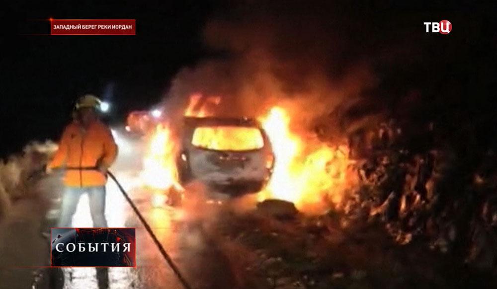 Нападение палестинцев на израильтян