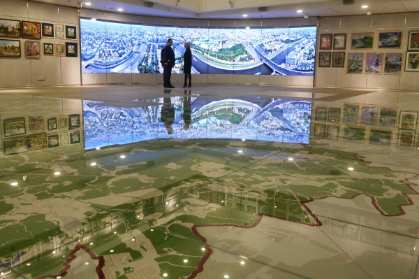 Интерактивная карта Москвы