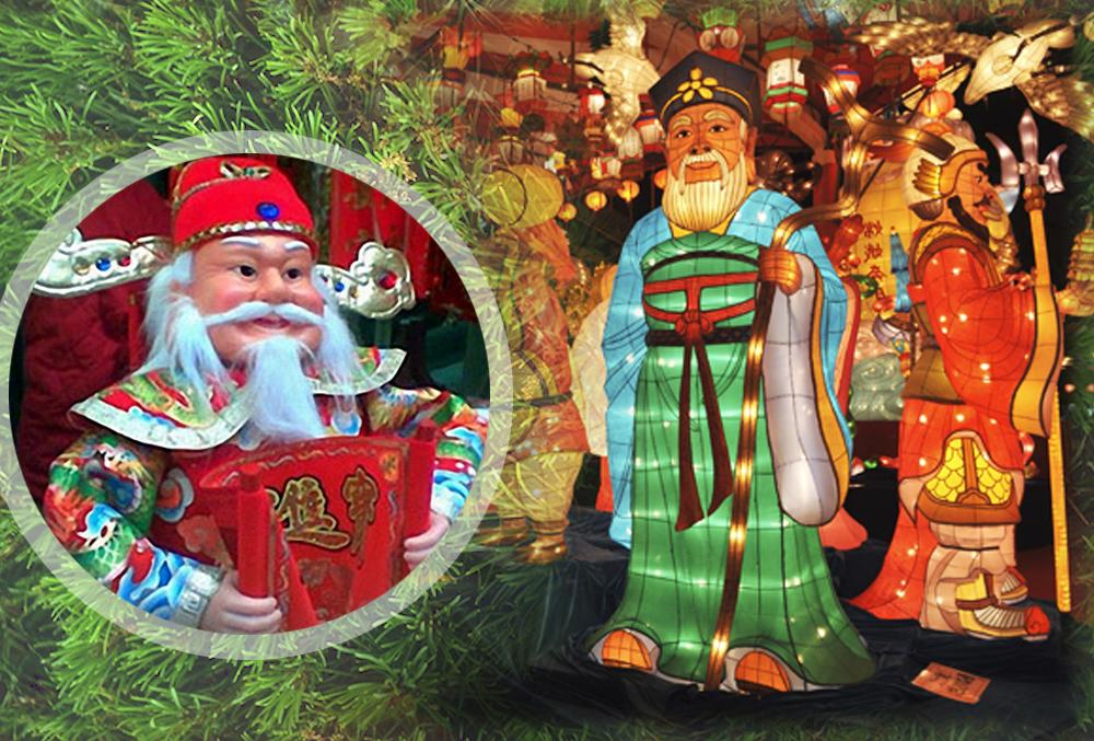 Новогодние открытки разных стран мира, для стендов крутой