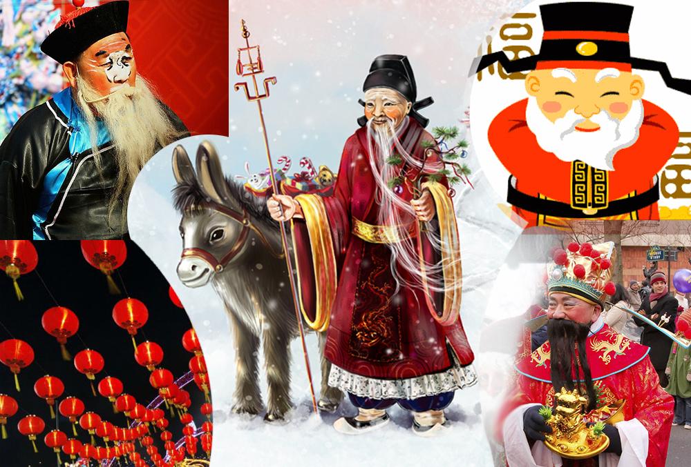 Риздвом христовым, новогодние открытки разных стран мира