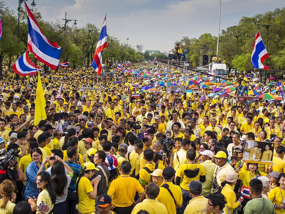 Уличные протесты в Бангкоке