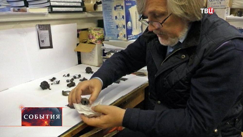 Найденный клад времен хана Батыя