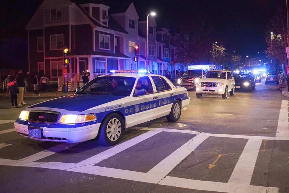 Полиция Бостона, США