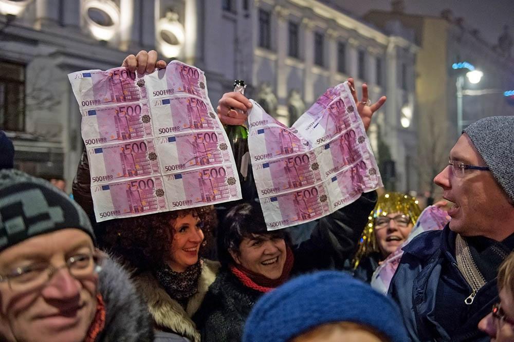 Литва вступила в еврозону