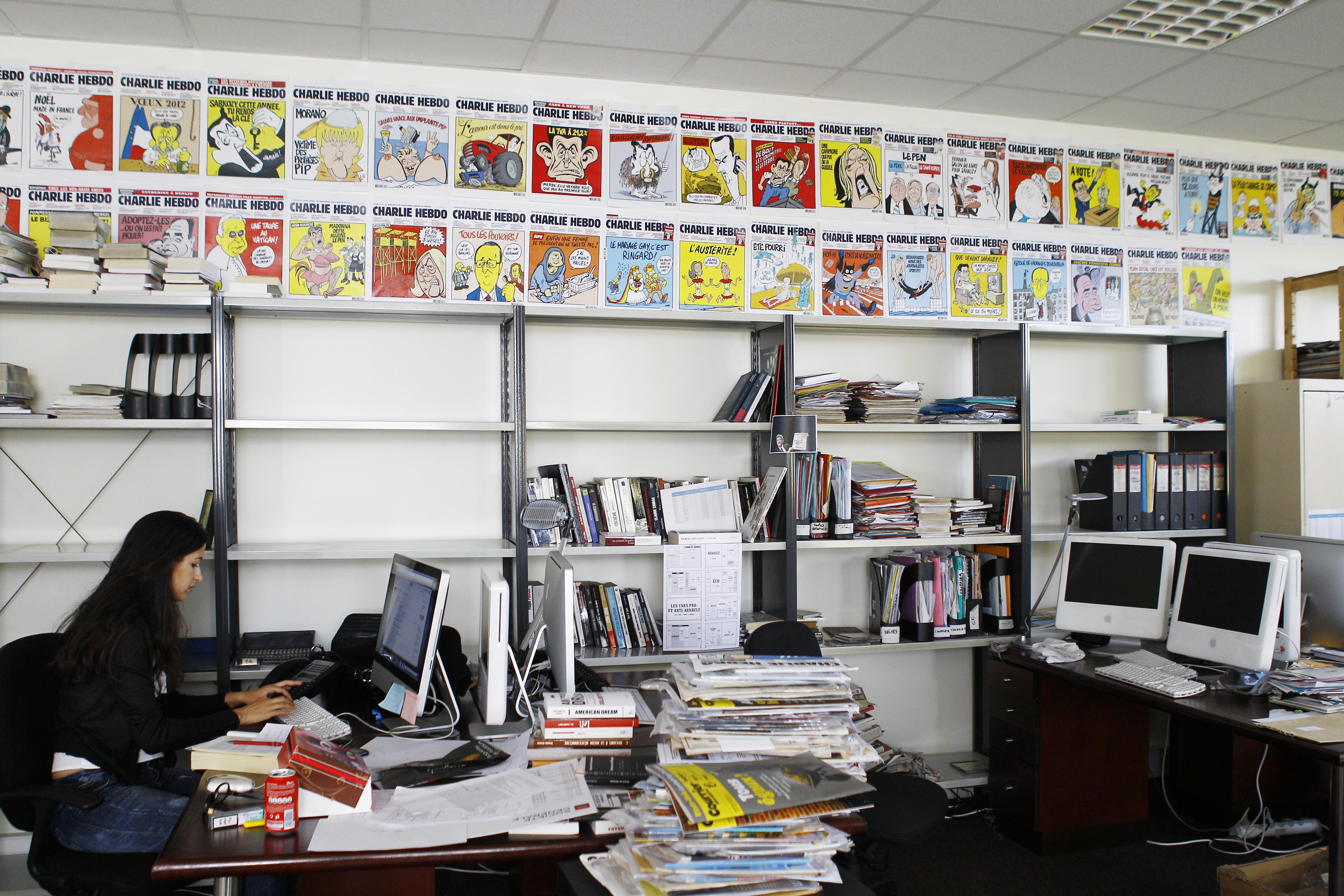 Редакция журнала Charlie Hebdo