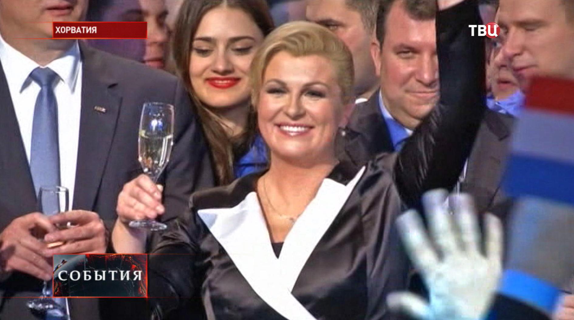 Кандидат от оппозиции Колинда Грабар-Китарович