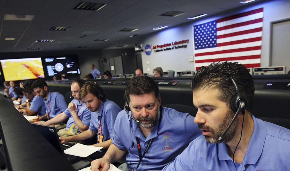 Центр Уравления полетами в NASA
