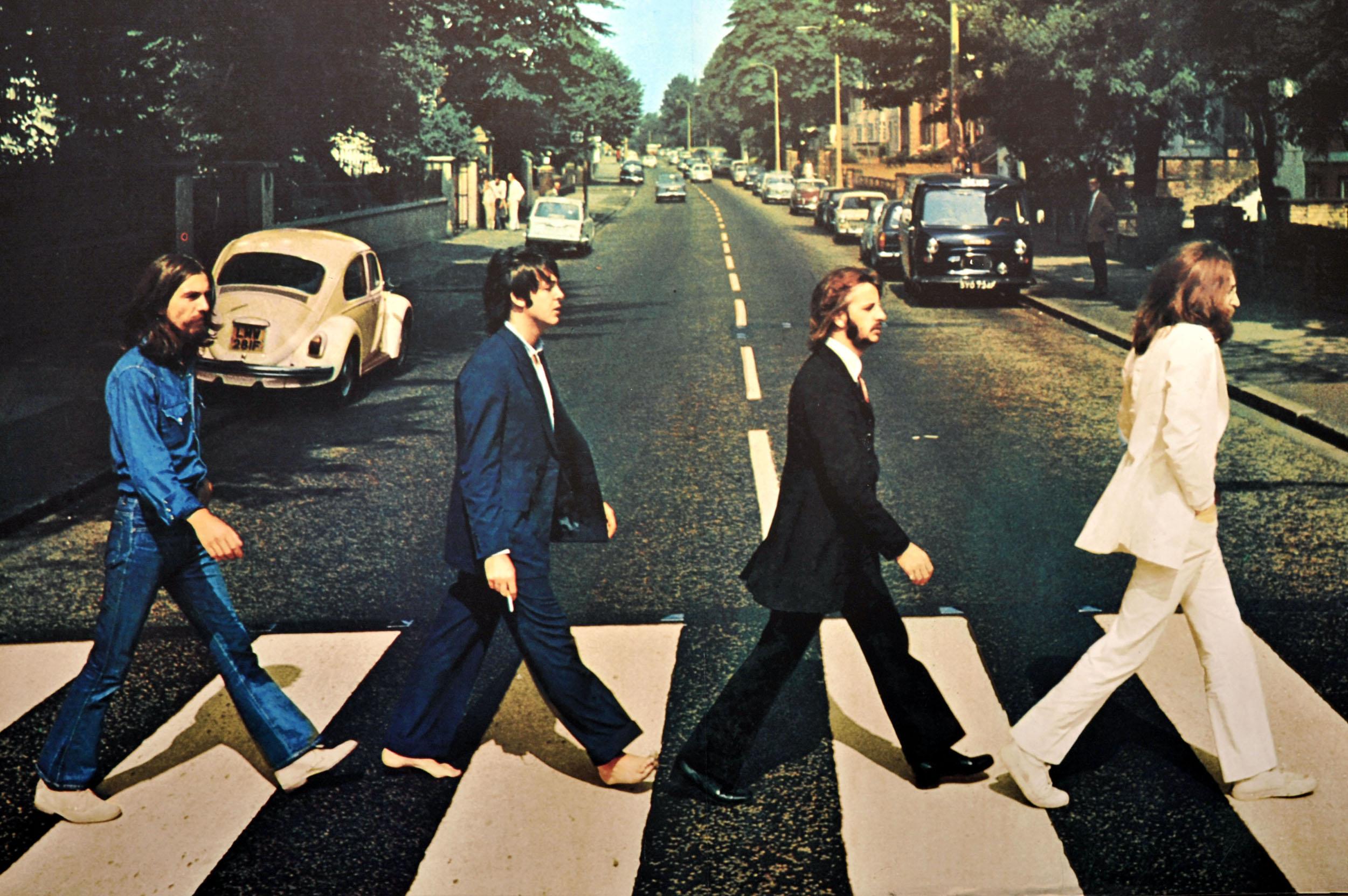 "Фотография The Beatles для альбома ""Abbey Road"""