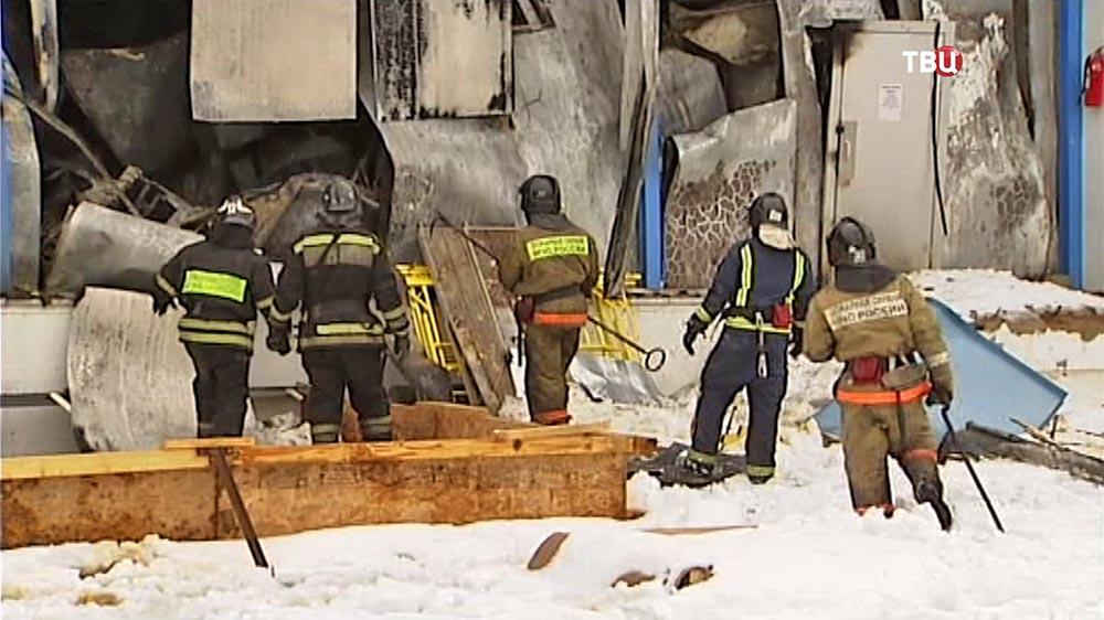 Пожарные локализовали возгорание